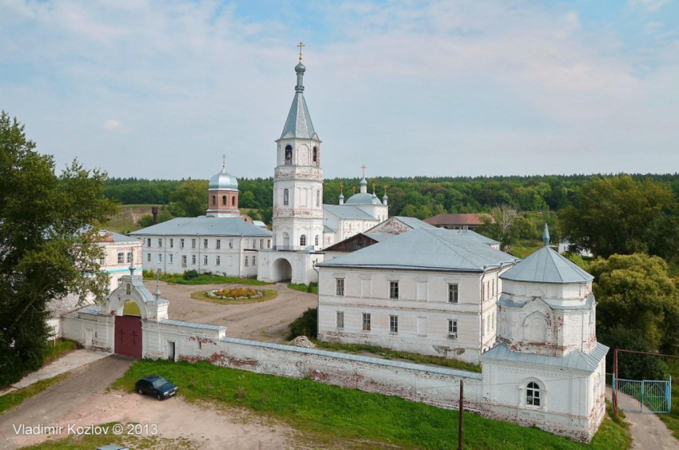 Тихвинский Керенский мужской монастырь в Вадинске
