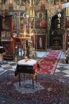 В монастыре Зограф. 2014 год